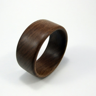 Walnut wooden bangle