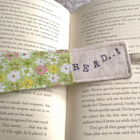 Bookmark - Hand Stamped