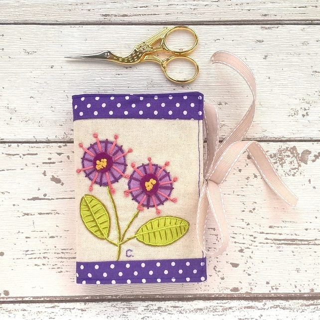 Flowers Sewing Needle Case