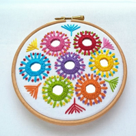 Mirrors Hoop Embroidery