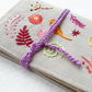 Embroidered Sewing Needle Case