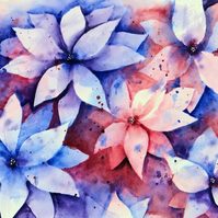 Flowers Original Painting A4 sized