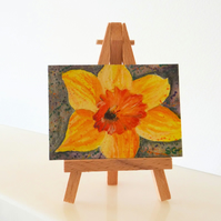 Daffodil Painting ACEO
