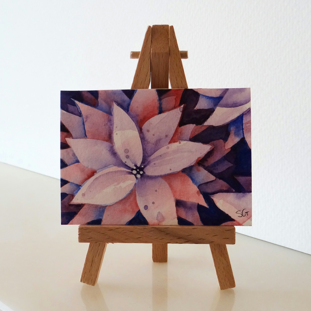 ACEO Flowers Watercolour