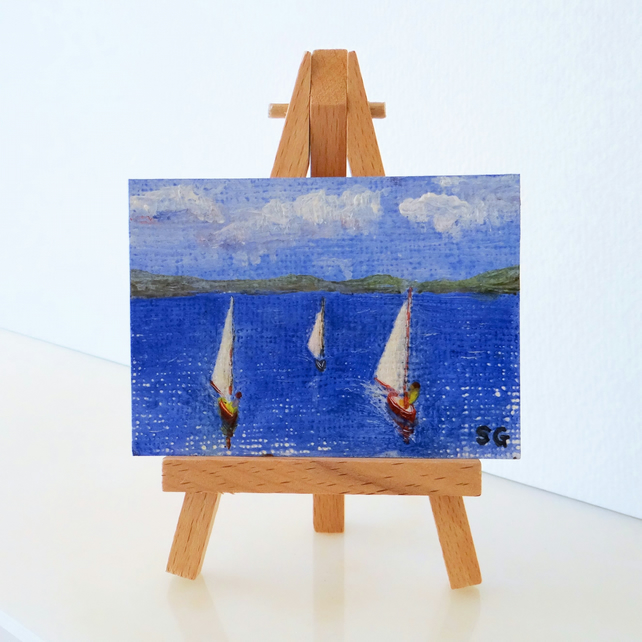 ACEO Sailing Boats
