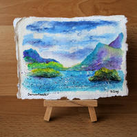 Lake District Mountains Painting