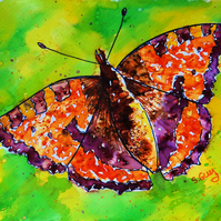 Butterfly Original Painting A4 sized