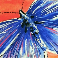 Butterfly Miniature Painting