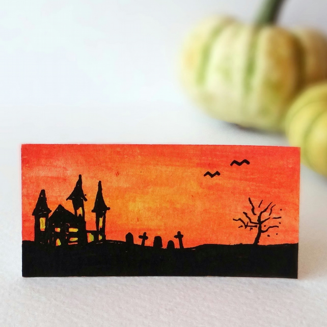 Spooky Halloween Miniature Painting