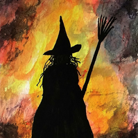 Witch ORIGINAL ACEO