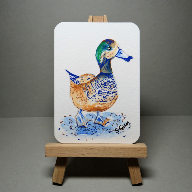 Duck Painting Miniature