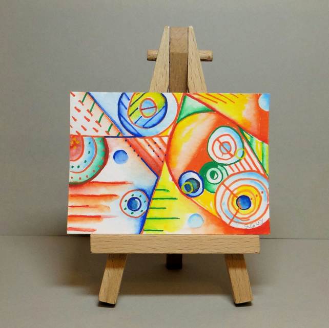 Abstract Painting Miniature