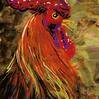 Chicken ACEO