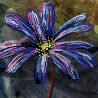 Anemone Flower Painting