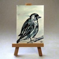 Sparrow Bird ACEO