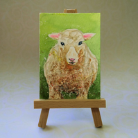 Sheep ACEO