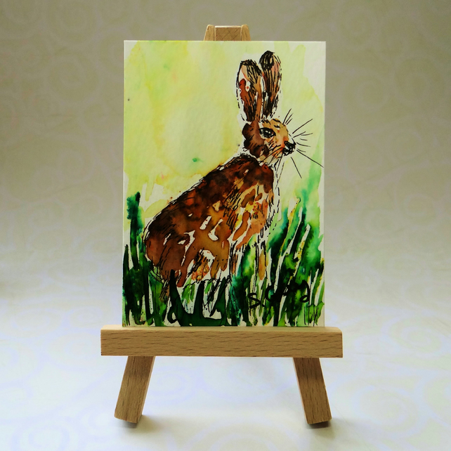 Hare ACEO