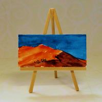 Desert Dolls House Painting