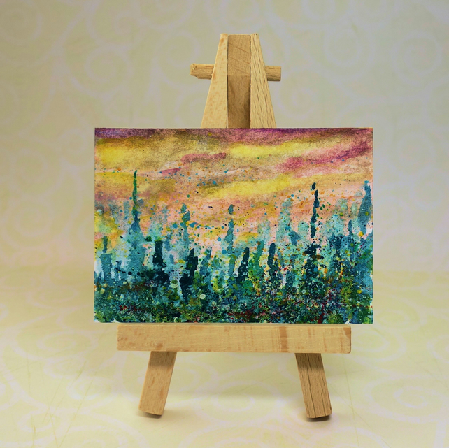 Woodland Painting Miniature