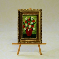 Framed Dolls House Painting