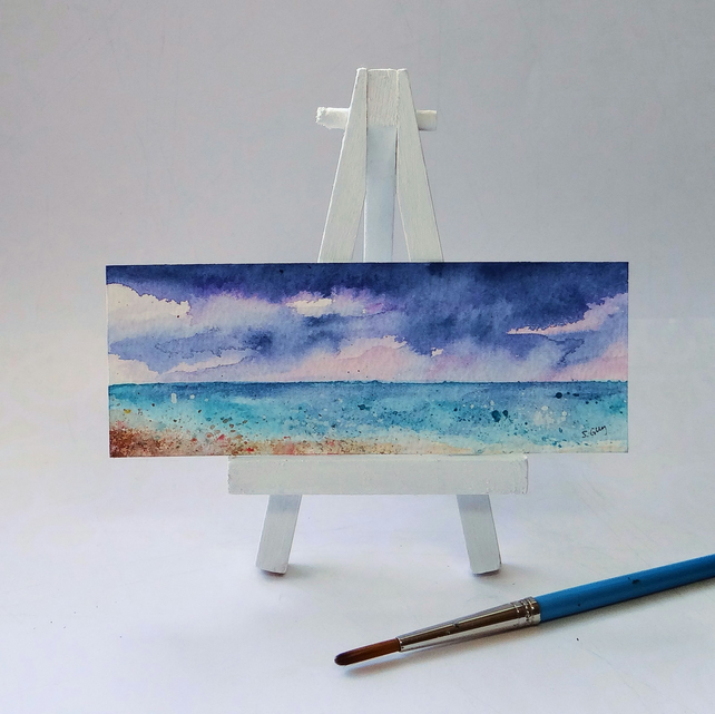 Sea view painting