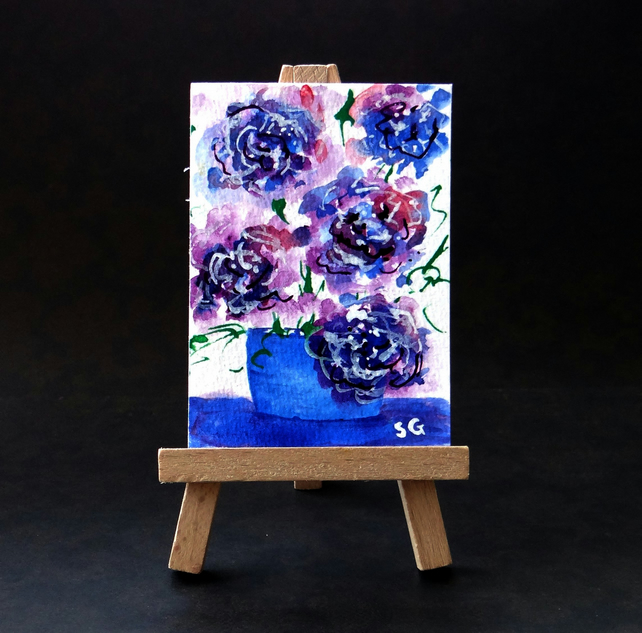 Flowers ACEO
