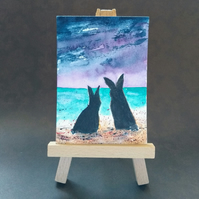 Bunnies at the Beach