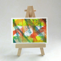 ACEO original abstract miniature painting