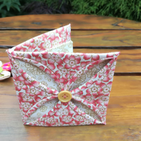Needle Case - Fabric - Needle Holder - Sewing - Cathedral Window Patchwork