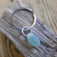 Simply Sea glass bubble keyring