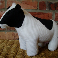 Dora, a friesian cow doorstop