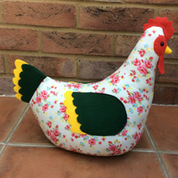 Sunshine chicken doorstop