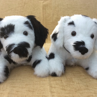 Dalmation Puppy Doorstop