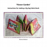 Fabric Flower Book Instructions