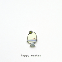 easter card - ethel the egg
