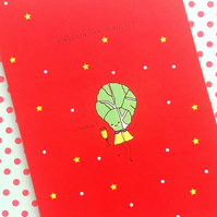 christmas card - celebrate like a sprout