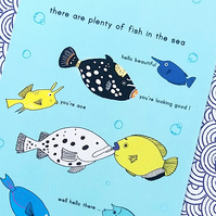 card - there are plenty more fish in the sea