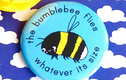 badges - inspirational insects