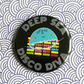 pocket mirror - deep sea disco diva - 38mm pocket mirror