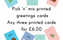 cards - pick 'n' mix