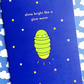 card - shine bright like a glow-worm - motivational card