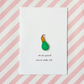 birthday card - oh my gourd! you're really old! - handmade birthday card