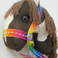 HOBBY HORSE - CHOCOLATE - Handmade and unique
