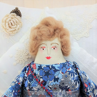 Mamie, A Folk Art Rag Doll