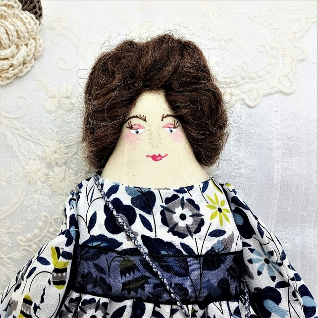 Marianne, A Folk Art Rag Doll