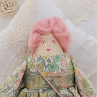 Milly, A HandMade Folk Art Rag Doll