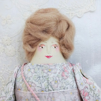 Marilla, A Folk Art Rag Doll