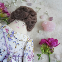 Norma, A Folk Art Rag Doll