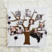 Stunning Magnetic Tree Photo Frame Kit - Butterfly