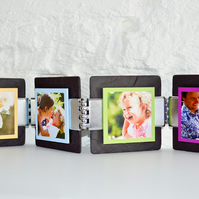 Welsh Slate Funky Photo Frame Kit - Multicolour